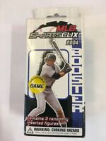 2004 TOPPS WIZKIDS MLB SPORTS CLIX BASEBALL BOOSTER 2 PACK LOT