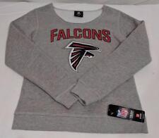 LZ Girls Youth Size Medium Atlanta Falcons Gray Pullover Sweatshirt Sweater New