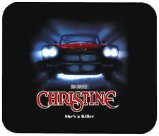 CHRISTINE MOUSE PAD 1/4 IN. TV HORROR MOVIE MOUSEPAD