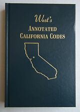 West's Annotated California Codes Book 111, 28 Pt. 3, Section 60000 to 66749
