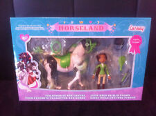 Horseland Figurine + cheval articulés vert gris jouet LANSAY Rosa Panache + NEUF