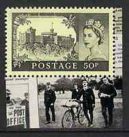 GB 2011 sg3221 50p First UK Aerial Post Windsor Castle Booklet Stamp MNH