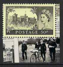 GB 2011 sg3221 50p First UK Aerial Post Windsor Castle Booklet Stamp MNH