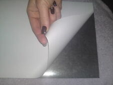 SELF ADHESIVE FLEXIBLE MAGNETIC SHEET  0.85mm thick A4