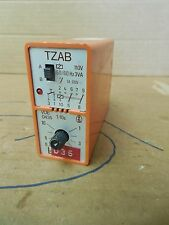 Bircher Timer TZAB 110 V Volt VAC Used