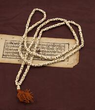 Collier Mala Tibetain Rosaire Perles Tete de Mort   Ø 6.5mm 5728