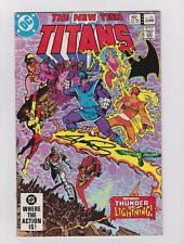 THE NEW TEEN TITANS 32 SIGNED GEORGE PEREZ W/COA MARV WOLFMAN ROBIN TALES