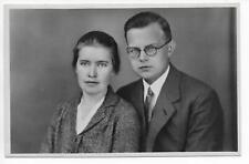 Spain Portugal Swedish Pentecostal Missionaries Ingrid and Tage Ståhlberg RPPC