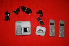 Sinus CA 34 Duo kabelloses Telefon mit Anrufbeantworter Schnurlostelefon 2er Set