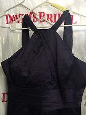 David's Bridal Lapis purple women's dress size 16 style 83690