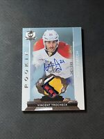 2014-15 UPPER DECK THE CUP VINCENT TROCHECK ROOKIE AUTO PATCH SILVER #ed 242/249