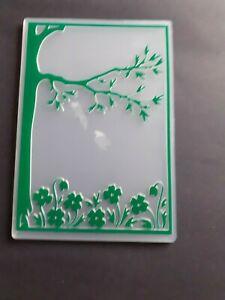 CRAFT CLEAROUT EMBOSSING FOLDER  TREE BRANCH WITH LEAFS🌿🌿🌿