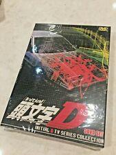 New Initial D Tv Series Collection 3 Dvd Set Japan Japanese Anime Car Racing
