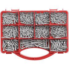 Schraubenset: Schrauben-Set I mit 545 Teilen (Holzschrauben Set)