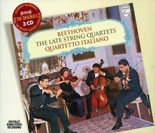 Quartetto Italiano, Ludwig van Beethoven - Late String Quartets [New CD] Rmst