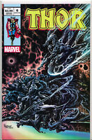 THOR #6 (KYLE HOTZ EXCLUSIVE VARIANT) Silver Surfer #4 Homage ~ Marvel Comics