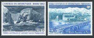 FSAT C78-C79.Michel 189,191. Erebus-Antarctic ice Cap,Port:Joan of Arc,1984.