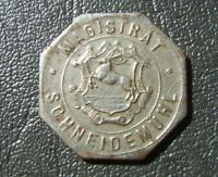 Germany Notgeld German Empire 1 pfennig 1917 kleingelder - Magistrat Schneidemuh
