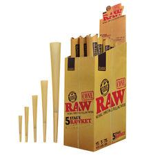 1 Raw Rawket 5 Stage 5 Cones Per Pack Pre Rolled Emperador, Supernatural & More
