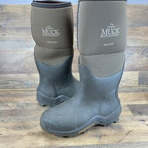 Muck Boot Wetland Pull On Boots Men's 8/8.5  Knee High