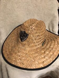 SA & Co Straw Hat Sombrero Island Moldable OS One Size NEW