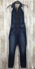 GUESS Jeans Denim Jumpsuit Denim One Piece Overalls Lace Up Corset Skinny 0 XS