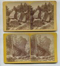 4 Gurnseys Colorado Stereoviews Denver & Rio Grande Railway Rocky Mountain Views