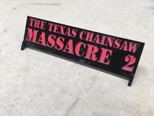 Texas Chainsaw Massacre 2 Prop Display plate