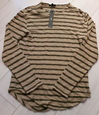 Tigha señores Sweater suéter Alister arena/oily Green talla m