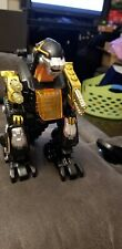 """2006 Happy Kid Toy Battery Operated Robot Dinosaur Transformer Action Robot 8"""""""