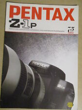 PENTAX : CATALOGUE : Z-1p 04/1996