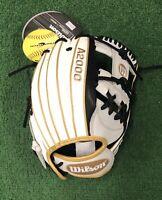 "Wilson A2000 12"" SuperSkin Fastpitch Softball Infield Glove - WTA20RF19H12"