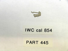 IWC cal  854   Setting lever spring  tirette  part   445