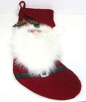 New Pier 1 Imports Christmas Santa Stocking