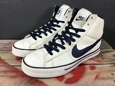 Nike Mens Shoes Sweet Classic High White Blue 354701-124 Size 8.5