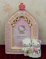 Dear Daniel & Hello Kitty Church Shape Resin Photo Frame Wedding Gift Decoration