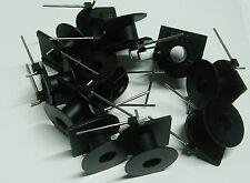 Confezione di 100 x M2038 BOBINE Bobbin 20mm Diametro 2 Pin PCB