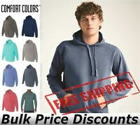 Comfort Colors Mens Garment Dyed Hooded Pullover Sweatshirt 1567 up to 3XL