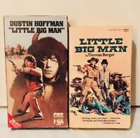 LITTLE BIG MAN 1970 film (VHS and Movie Tie-In Paperback)