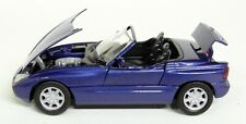 Schabak 1/43 Scale - BMW Z1 Metallic Blue / Moving parts Diecast Model Car