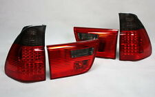 LED RÜCKLEUCHTEN HECKLEUCHTEN SET BMW E53 X5 99-03 ROT SCHWARZ SMOKE TÜV-FREI
