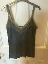 ABERCROMBY AND FITCH grey sleeveless top size L/14