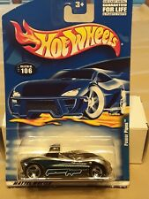 Hot Wheels, #106, Power Pipes, Chrome/Blue