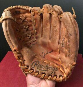 "Vintage Reggie Jackson, Rawlings RBG90 Baseball Glove, 11"""