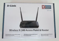 D-Link DAP-1360U WiFi Wireless N 300Mbps B/G/N Access Point Repeater Bridge LAN