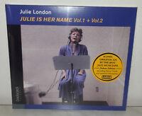 CD JULIE LONDON - JULIE IS HER NAMES VOL 1 & 2  - DIGIPAK - NUOVO NEW