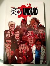 NIGHT OF THE 80'S UNDEAD volume 1 TPB / complete issues 1-3 *SIGNED trade