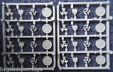 1998 Skaven Plástico clanrat Regimiento Escudo sprue Citadel Warhammer ejército Escudos