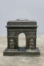 More details for vintage spelter arc de triomphe souvenir