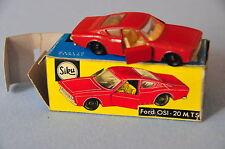 SIKU V276 Ford OSI 20 M TS OVP boxed R2 Rarity rare Rarität 276 60er 70s
